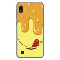 Funda Gel Tpu para Samsung Galaxy A10 diseño Helado Vainilla Dibujos