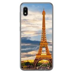 Funda Gel Tpu para Samsung Galaxy A10 diseño Paris Dibujos