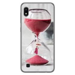 Funda Gel Tpu para Samsung Galaxy A10 diseño Reloj Dibujos