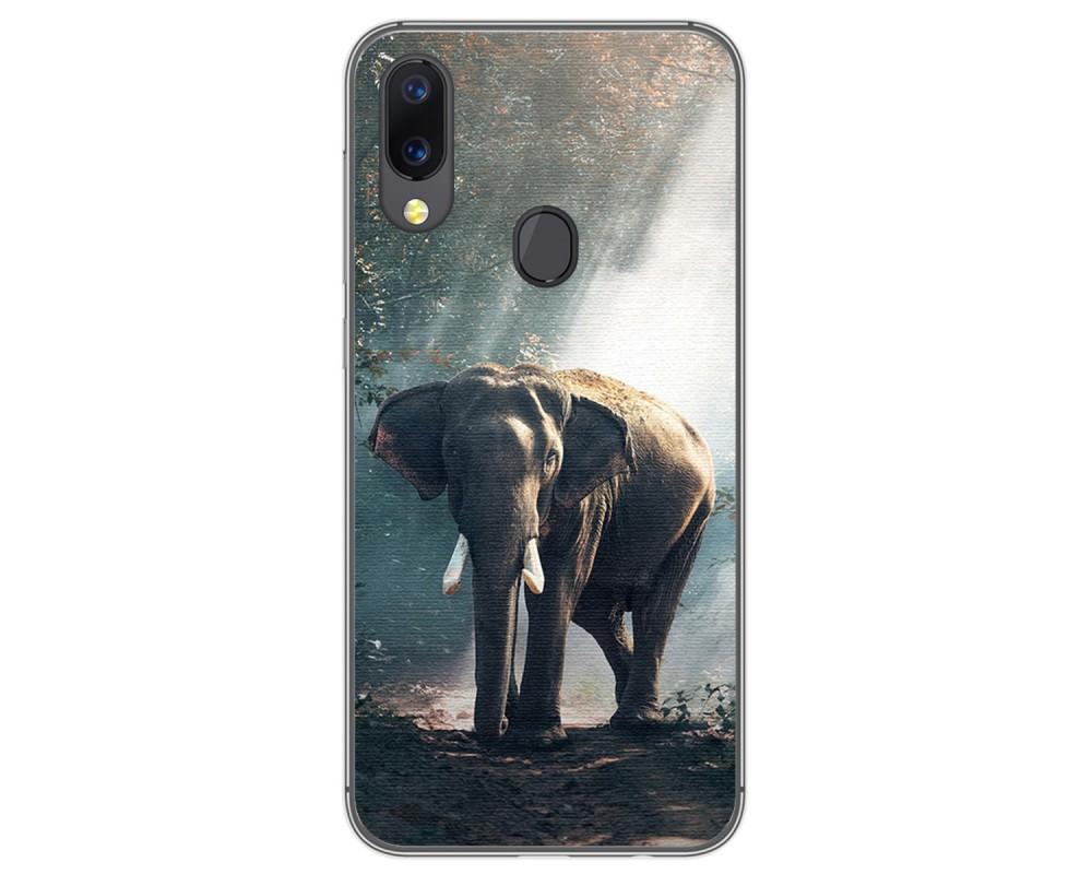 Funda Gel Tpu para UmiDigi A3 / A3 Pro diseño Elefante Dibujos