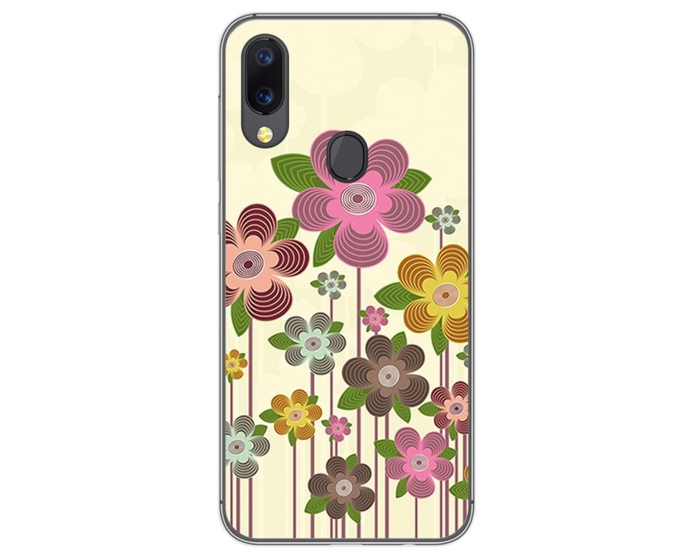 Funda Gel Tpu para UmiDigi A3 / A3 Pro diseño Primavera En Flor Dibujos
