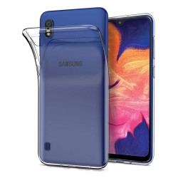 Funda Gel Tpu Fina Ultra-Thin 0,5mm Transparente para Samsung Galaxy A10