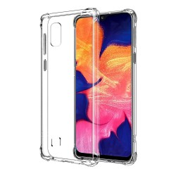 Funda Gel Tpu Anti-Shock Transparente para Samsung Galaxy A10