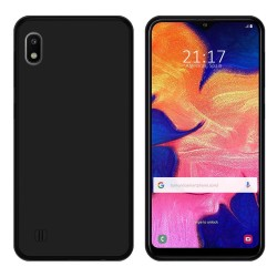 Funda Gel Tpu para Samsung Galaxy A10 Color Negra