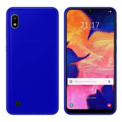 Funda Gel Tpu para Samsung Galaxy A10 Color Azul