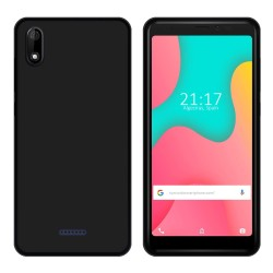 Funda Gel Tpu para Wiko Y60 Color Negra
