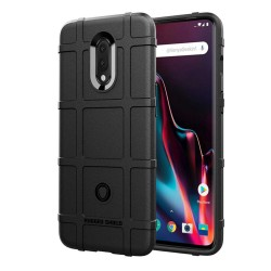 Funda Armor Rugged Shield Antigolpes para Oneplus 7 color Negra