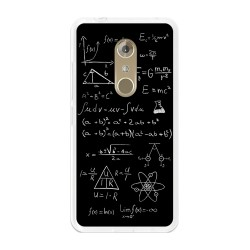 Funda Gel Tpu para Zte Axon 7 Diseño Formulas Dibujos