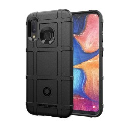 Funda Armor Rugged Shield Antigolpes para Samsung Galaxy A20e 5.8 color Negra