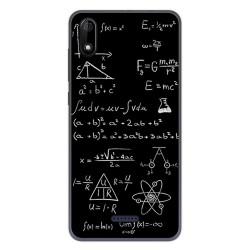 Funda Gel Tpu para Wiko Y60 diseño Formulas Dibujos