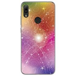 Funda Gel Tpu para Huawei Y6 2019 / Y6s 2019 diseño Abstracto Dibujos