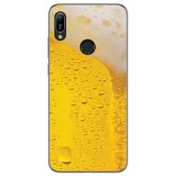 Funda Gel Tpu para Huawei Y6 2019 / Y6s 2019 diseño Cerveza Dibujos
