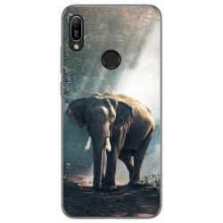 Funda Gel Tpu para Huawei Y6 2019 / Y6s 2019 diseño Elefante Dibujos