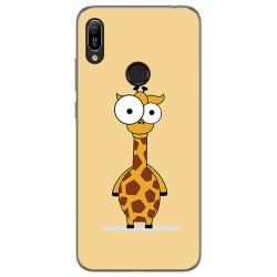 Funda Gel Tpu para Huawei Y6 2019 / Y6s 2019 diseño Jirafa Dibujos
