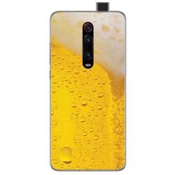 Funda Gel Tpu para Xiaomi Mi 9T / Mi 9T Pro diseño Cerveza Dibujos