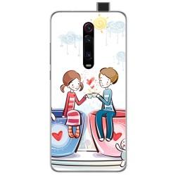 Funda Gel Tpu para Xiaomi Mi 9T / Mi 9T Pro diseño Café Dibujos