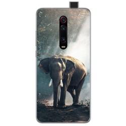 Funda Gel Tpu para Xiaomi Mi 9T / Mi 9T Pro diseño Elefante Dibujos