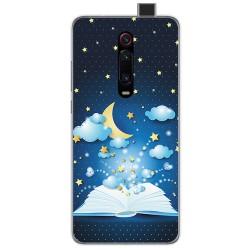 Funda Gel Tpu para Xiaomi Mi 9T / Mi 9T Pro diseño Libro Cuentos Dibujos