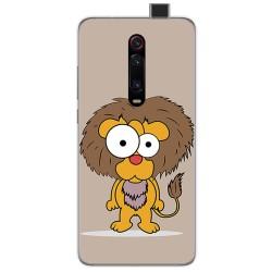 Funda Gel Tpu para Xiaomi Mi 9T diseño Leon Dibujos