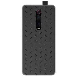 Funda Gel Tpu para Xiaomi Mi 9T diseño Metal Dibujos