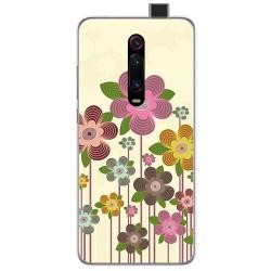Funda Gel Tpu para Xiaomi Mi 9T / Mi 9T Pro diseño Primavera En Flor Dibujos