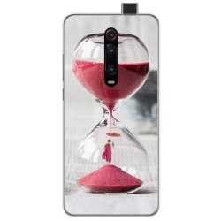 Funda Gel Tpu para Xiaomi Mi 9T diseño Reloj Dibujos