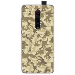 Funda Gel Tpu para Xiaomi Mi 9T diseño Sand Camuflaje Dibujos