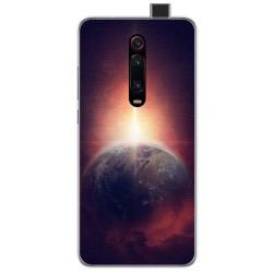 Funda Gel Tpu para Xiaomi Mi 9T diseño Tierra Dibujos