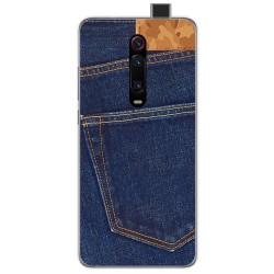 Funda Gel Tpu para Xiaomi Mi 9T / Mi 9T Pro diseño Vaquero Dibujos