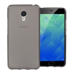 "Funda Gel Tpu para Meizu M5 5.2"" Color Negra"