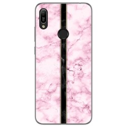 Funda Gel Tpu para Huawei Y6 2019 diseño Mármol 04 Dibujos