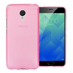 Funda Gel Tpu para Meizu M5 Note Color Rosa
