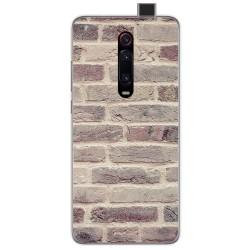 Funda Gel Tpu para Xiaomi Mi 9T diseño Ladrillo 01 Dibujos
