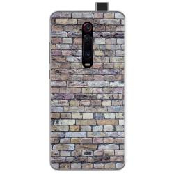 Funda Gel Tpu para Xiaomi Mi 9T diseño Ladrillo 02 Dibujos