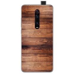 Funda Gel Tpu para Xiaomi Mi 9T diseño Madera 02 Dibujos