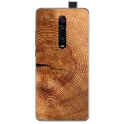 Funda Gel Tpu para Xiaomi Mi 9T diseño Madera 04 Dibujos