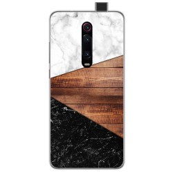 Funda Gel Tpu para Xiaomi Mi 9T diseño Mármol 11 Dibujos