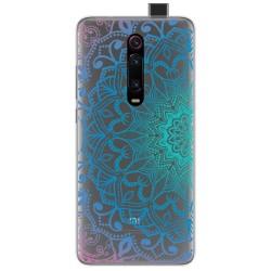 Funda Gel Transparente para Xiaomi Mi 9T / Mi 9T Pro diseño Mandala Dibujos