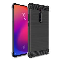Funda Gel Tpu Anti-Shock Carbon Negra para Xiaomi Mi 9T / Mi 9T Pro