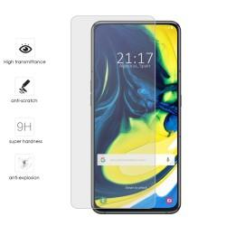 Protector Cristal Templado para Samsung Galaxy A80 Vidrio
