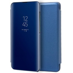 Funda Flip Cover Clear View para Xiaomi Mi 9 color Azul