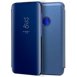 Funda Flip Cover Clear View para Xiaomi Redmi 7 color Azul