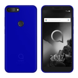 Funda Gel Tpu para Alcatel 1S (2019) Color Azul