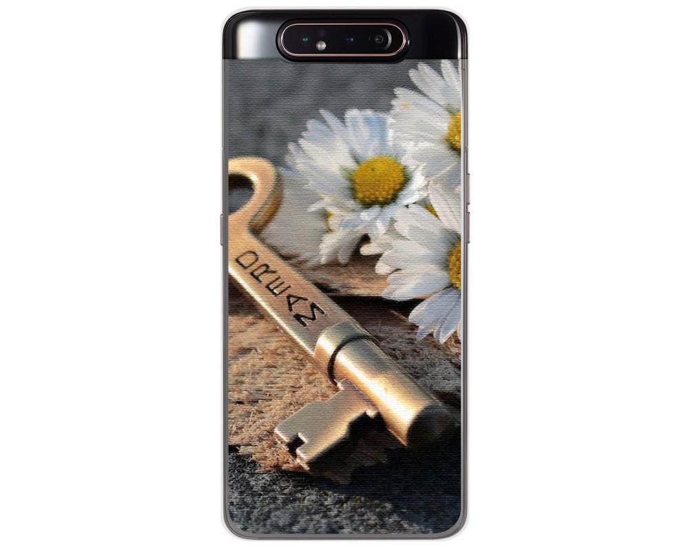 Funda Gel Tpu para Samsung Galaxy A80 diseño Dream Dibujos