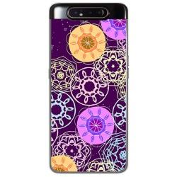 Funda Gel Tpu para Samsung Galaxy A80 diseño Radial Dibujos