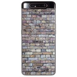 Funda Gel Tpu para Samsung Galaxy A80 diseño Ladrillo 02 Dibujos
