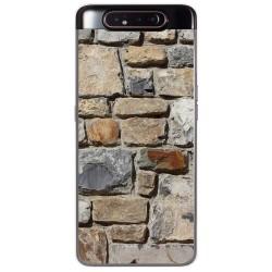 Funda Gel Tpu para Samsung Galaxy A80 diseño Ladrillo 03 Dibujos