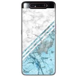 Funda Gel Tpu para Samsung Galaxy A80 diseño Mármol 02 Dibujos