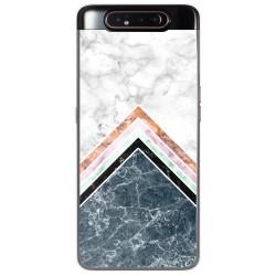 Funda Gel Tpu para Samsung Galaxy A80 diseño Mármol 05 Dibujos