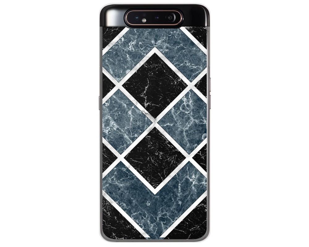 Funda Gel Tpu para Samsung Galaxy A80 diseño Mármol 06 Dibujos